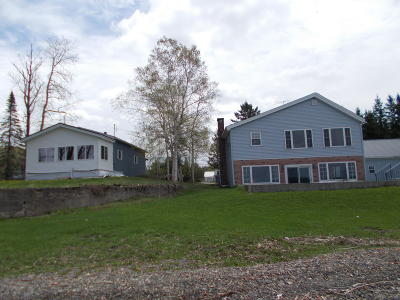 Portage Lake Multi Family Home For Sale: 54&60 West Road