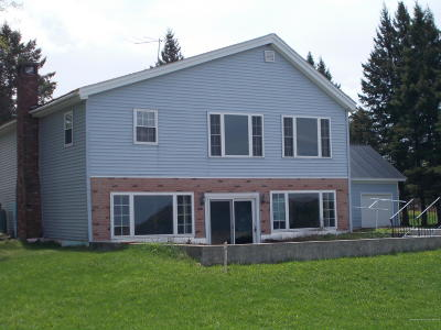 Portage Lake Single Family Home For Sale: 60 West Road