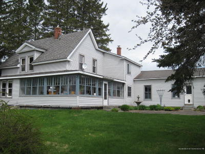 Caribou Single Family Home For Sale: 205 Vance Road
