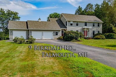 Falmouth Single Family Home For Sale: 9 Birkdale Road