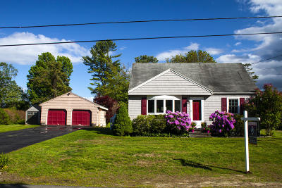 North Yarmouth Single Family Home For Sale: 42 Deer Run Road