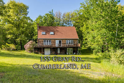 Cumberland Single Family Home For Sale: 155 Gray Road