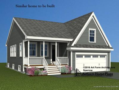 Wells Single Family Home For Sale: Lot 7 Camerons Lane
