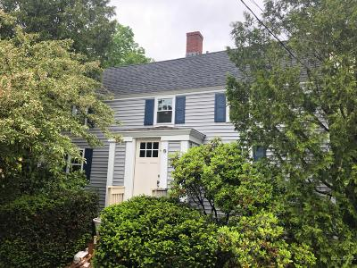 Kennebunk Single Family Home For Sale: 28 Water Street