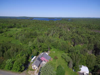 Single Family Home For Sale: 1137 Seboeis Road