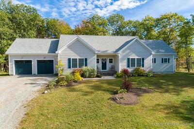Brunswick Single Family Home For Sale: 27 North Trail