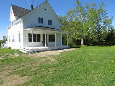 Woodland Single Family Home For Sale: 1178 New Sweden Road