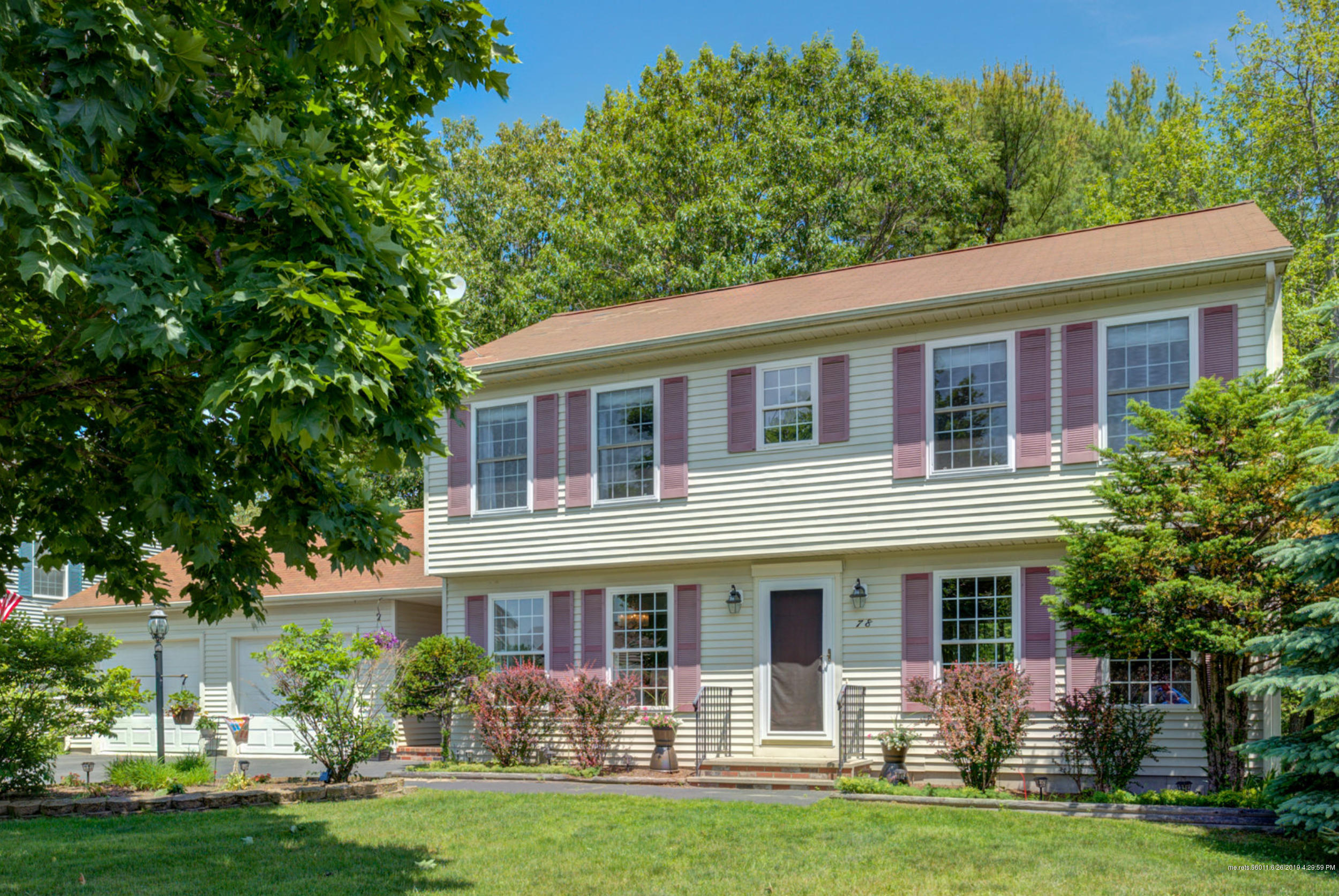 Pleasing 78 Snowberry Drive South Portland Me Mls 1421878 Home Interior And Landscaping Palasignezvosmurscom