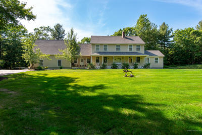 South Berwick Single Family Home For Sale: 169 York Woods Road