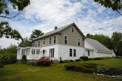 Sullivan Single Family Home For Sale: 132 Tunk Lake Road