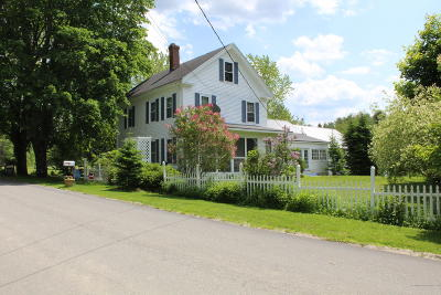 Cherryfield ME Single Family Home For Sale: $235,000