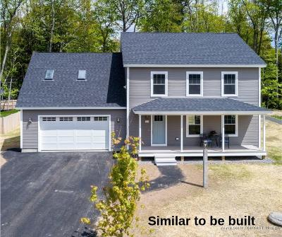 Freeport Single Family Home For Sale: Lot 1 Map 18 Lot 16a Route 1 North