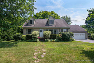 Scarborough ME Single Family Home For Sale: $389,000
