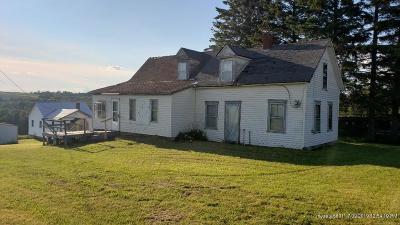 Caribou Single Family Home For Sale: 1177 Presque Isle Road