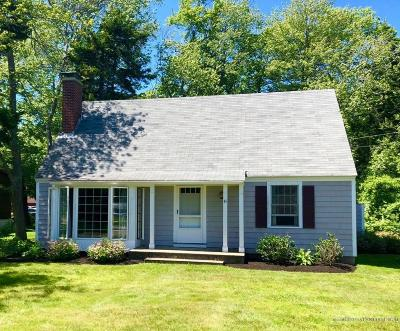 Scarborough, Cape Elizabeth, Falmouth, Yarmouth, Saco, Old Orchard Beach, Kennebunkport, Wells, Arrowsic, Kittery Single Family Home For Sale: 45 Shady Lane