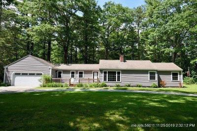 Kennebunk Single Family Home For Sale: 55 High Street