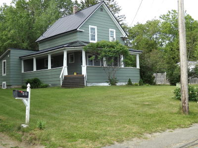 Caribou ME Single Family Home For Sale: $89,900