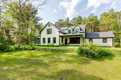 Single Family Home For Sale: 576 Cundy's Harbor Road