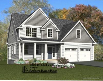 Rollinsford Single Family Home For Sale: 6 Scarlett Lane #19-6