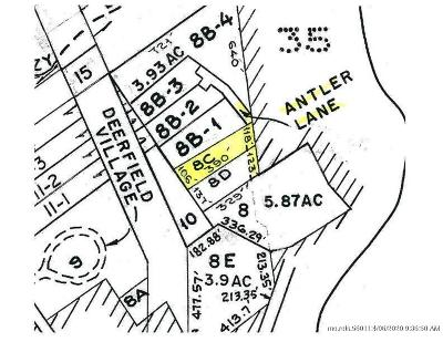 Residential Lots & Land For Sale: Map 15-8C Antler Lane