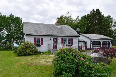 Gouldsboro Single Family Home For Sale: 75 Route 1