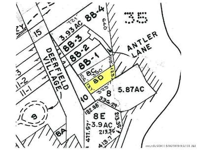 Residential Lots & Land For Sale: Map 15-8D Antler Lane
