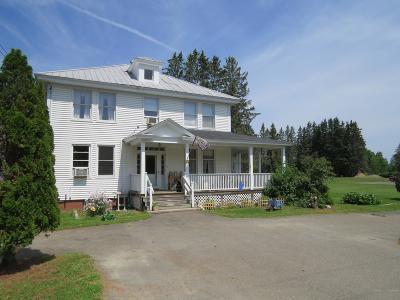 Saint John Plt ME Single Family Home For Sale: $144,000
