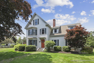 Kennebunk Single Family Home For Sale: 223 Sea Road