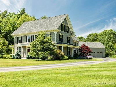 Falmouth Single Family Home For Sale: 9 Fox Hall Road