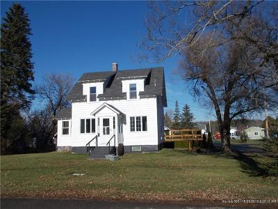Aroostook-County Single Family Home For Sale: 3 Hunt Street