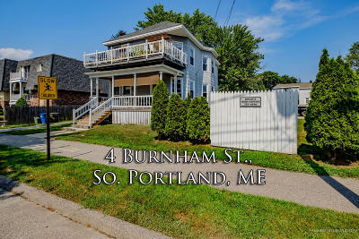 South Portland ME Multi Family Home For Sale: $363,000
