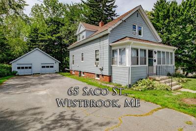 Westbrook Single Family Home For Sale: 65 Saco Street