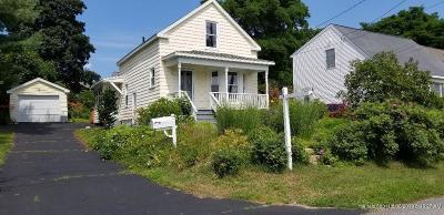 South Portland ME Single Family Home For Sale: $269,999