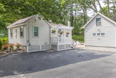 Kennebunkport Single Family Home For Sale: 156 Main Street
