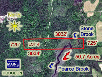 Hodgdon Residential Lots & Land For Sale: Lot 4 Hollywood Road Estates Road