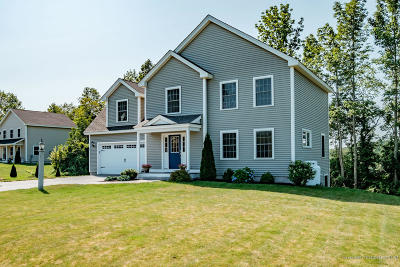 Falmouth Single Family Home For Sale: 4 Bella's Way