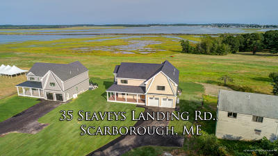 Scarborough Single Family Home For Sale: 35 Seavey's Landing Road