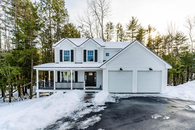 Cumberland Single Family Home For Sale: 4 Peaks Lane Lot 49