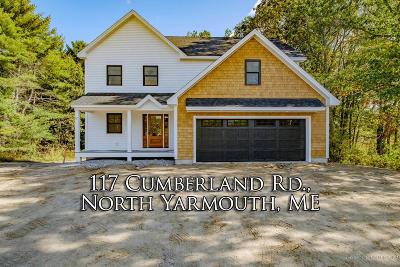 North Yarmouth Single Family Home For Sale: 117 Cumberland Road