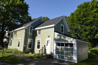 Bangor ME Single Family Home For Sale: $114,950