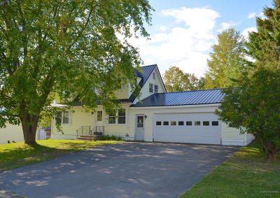 Presque Isle Single Family Home For Sale: 3 City View