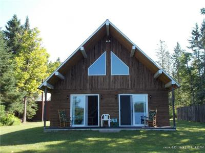 Portage Lake Single Family Home For Sale: 315 E Cottage Road
