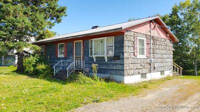 Caribou ME Single Family Home For Sale: $49,900