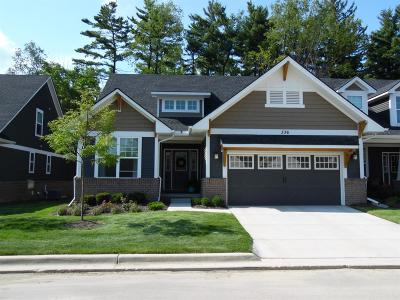 Saline Condo/Townhouse For Sale: 312 Curtiss Lane
