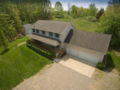 Chelsea Single Family Home Active-Contingent: 17745 Cavanaugh Lake Road