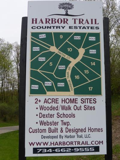 Whitmore Lake Residential Lots & Land For Sale: 9776 Harbor Trail