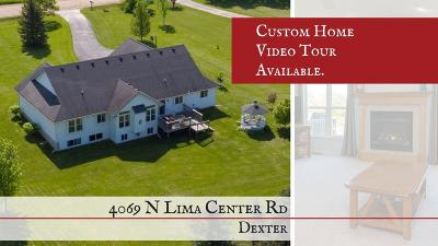 Dexter Single Family Home For Sale: 4069 N Lima Center Road