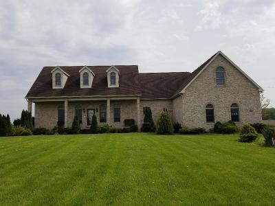 Milan Single Family Home For Sale: 17091 Cone Rd