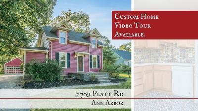 Ann Arbor MI Single Family Home For Sale: $199,000