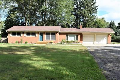 Saline Single Family Home For Sale: 844 W Willis Road